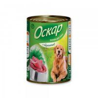 Оскар «С бараниной» консервы для собак