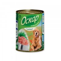 Оскар «С индейкой» консервы для собак