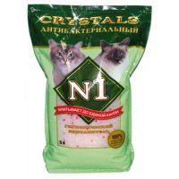 Наполнитель №1 Crystals антибактериальный силикагелевый для кошек