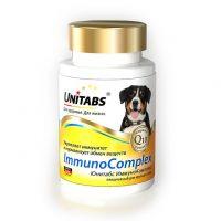 Unitabs Immuno Complex Q10 Витамины для Крупных собак