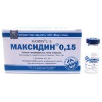 МИКРО-ПЛЮС МАКСИДИН ГЛАЗНЫЕ КАПЛИ, 0,15%