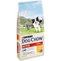 КОРМ ДЛЯ СОБАК PURINA (ПУРИНА) (ПУРИНА) DOG CHOW Adult с курицей для взрослых активных собак сух.