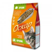Сухой корм «Оскар» С кроликом для взрослых кошек
