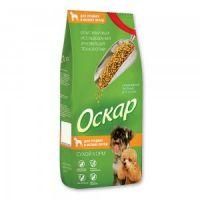 Сухой корм «Оскар» Для средних и мелких пород