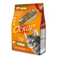 Сухой корм «Оскар» С ягненком для взрослых кошек