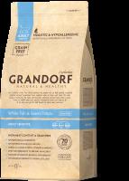 Grandorf (Грандорф) для кошек Белая рыба с бататом Sensitive