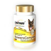 Unitabs Brevers Complex Q10 Витамины с Пивными дрожжами для Крупных собак