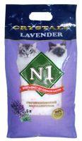 №1 CRYSTALS Lavender Cиликагелевый наполнитель для кошачьего туалета