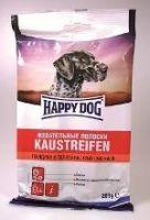 Лакомства Happy Dog Жевательные полоски с говядиной и телятиной