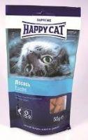 Лакомства Happy Cat Лакомые подушечки с лососем