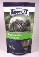 Лакомства Happy Cat Лакомые подушечки с кошачьей мятой