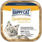 Влажные корма Happy Cat  Паштет Цыпленок