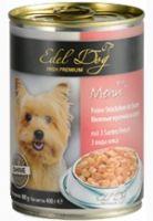 Влажные корма Edel Dog Кусочки в соусе 3 вида мяса