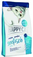 "Сухие корма Happy Cat Sensitive Grainfree ""Морская рыба"""