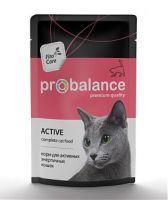 ProBalance консервы для активных кошек