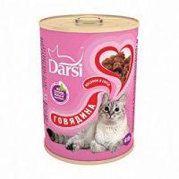 Darsi Консервы для кошек Говядина