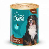 Darsi Консервы для собак Говядина и печень