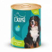 Darsi Консервы для собак Говядина и рис