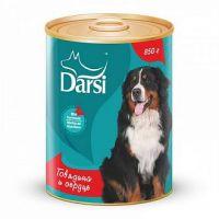 Darsi Консервы для собак Говядина и сердце