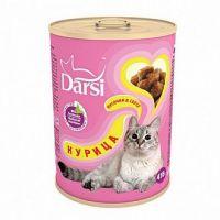 Darsi Консервы для кошек Курица