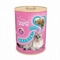 Darsi Консервы для кошек Лосось