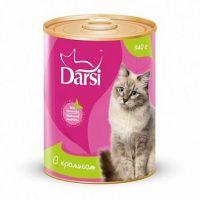Darsi Консервы для кошек с Кроликом