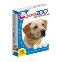 Доктор ZOO Витамины ЗДОРОВЫЙ ИММУНИТЕТ с водорослями для собак