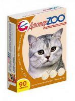 Доктор ZOO Мультивитаминное лакомство для кошек со вкусом копченостей