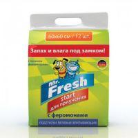 Mr.Fresh Start Подстилки для приучения к месту 60×60 см (12 шт.)