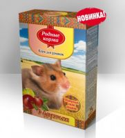 Родные корма Корм для Хомяков «с фруктами»