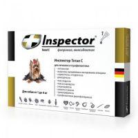 Inspector капли от внешних и внутренних паразитов для собак от 1 до 4 кг