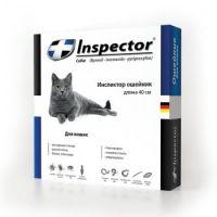 Inspector ошейник от внешних и внутренних паразитов для кошек