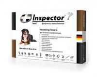 Inspector капли от внешних и внутренних паразитов для собак от 40 до 60 кг