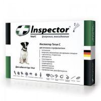 Inspector капли от внешних и внутренних паразитов для собак от 4 до 10 кг