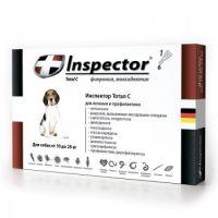 Inspector капли от внешних и внутренних паразитов для собак от 10 до 25 кг
