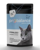 ProBalance консервы для стерилизованных кошек