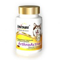 Unitabs Arthro Active Q10 Витамины для Собак при Болезнях Суставов